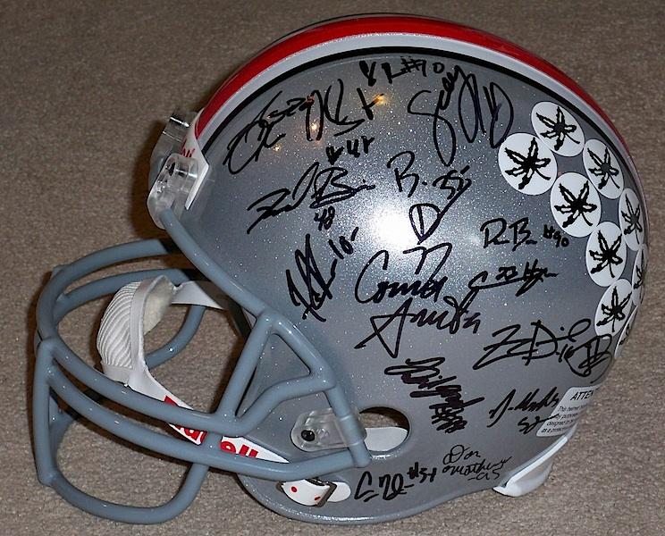 Ohio State Buckeyes Helmet. 2010 OHIO STATE BUCKEYES