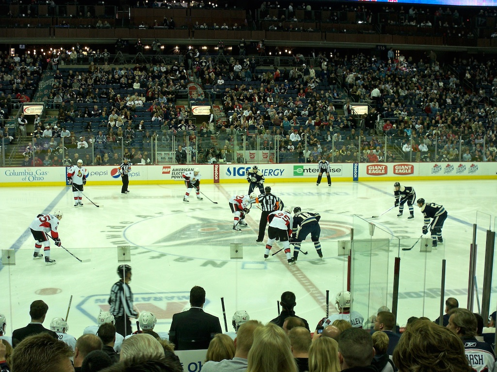 Blue Jackets Green Seats | Outdoor Jacket